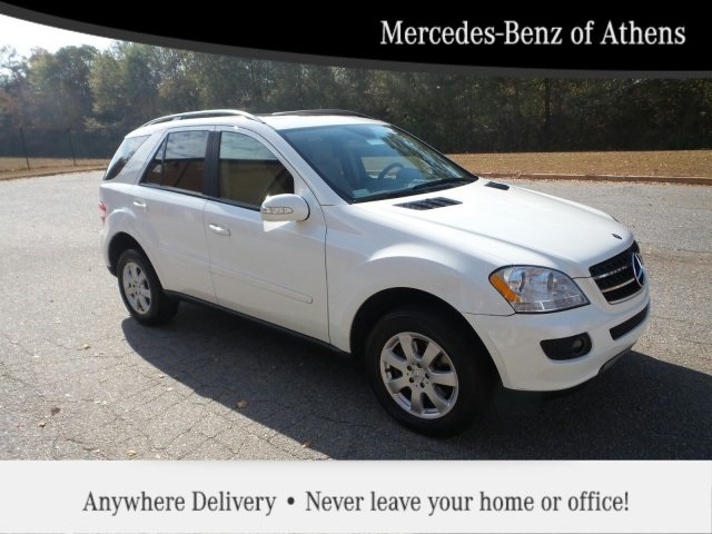 Pre owned 2007 mercedes benz m class ml350 4d sport for Mercedes benz of athens ga