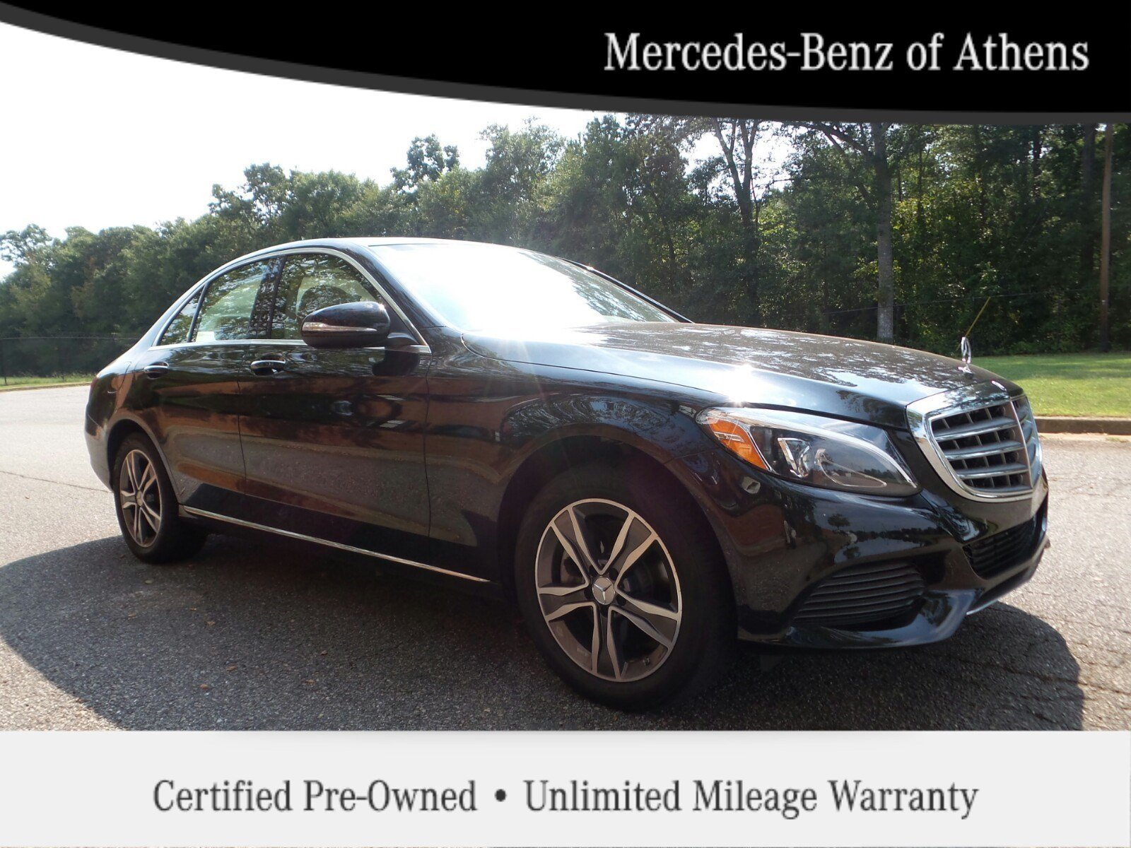 Certified pre owned 2015 mercedes benz c class c300 luxury for Mercedes benz c class pre owned