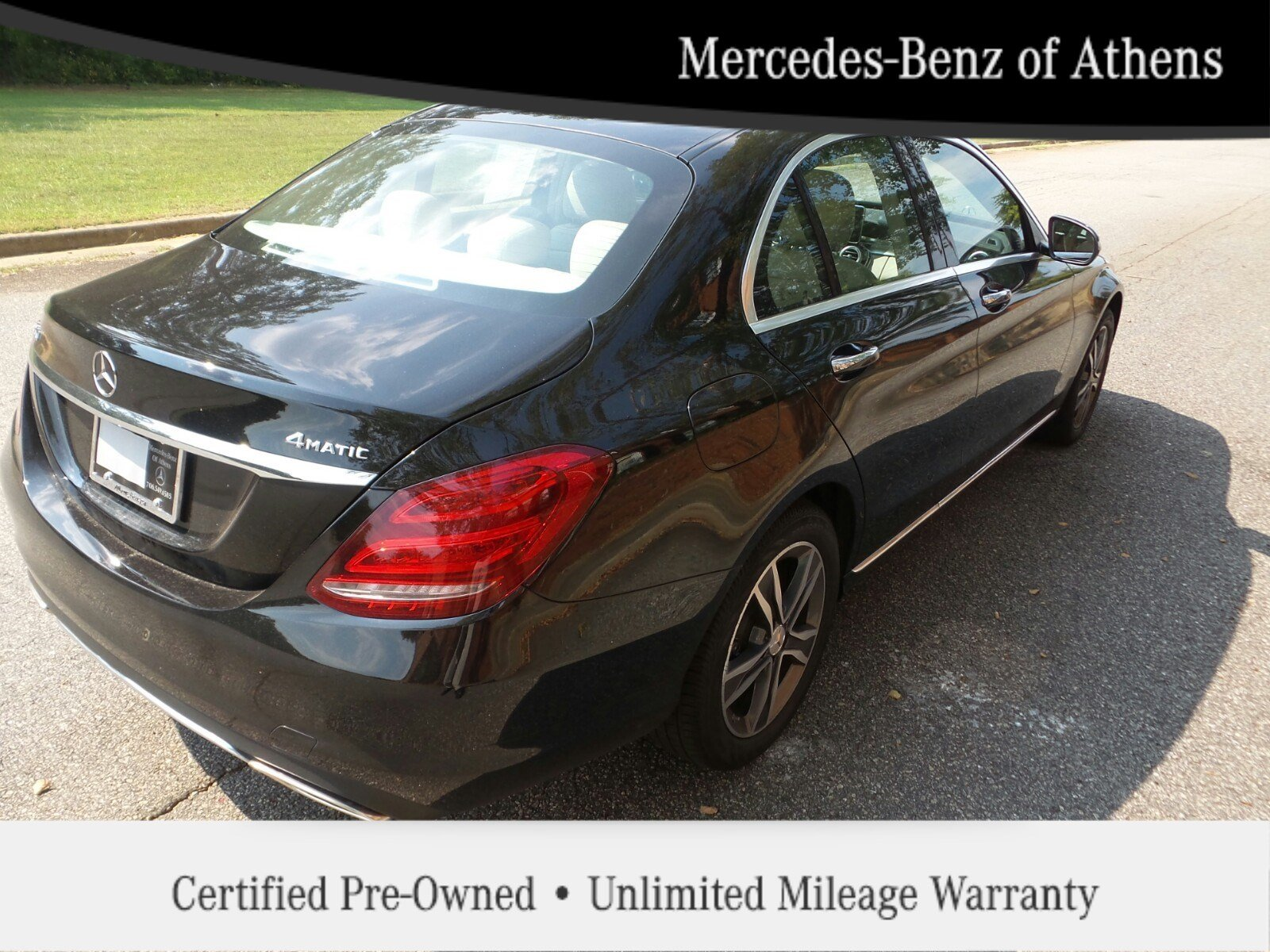 Certified pre owned 2015 mercedes benz c class c300 luxury for Certified pre owned mercedes benz