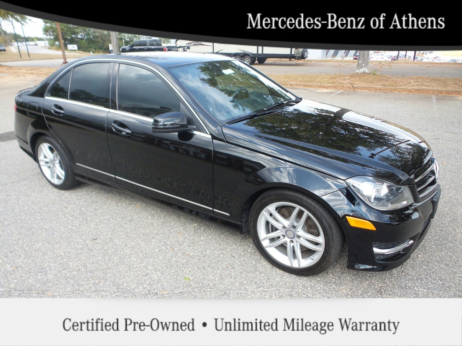 Certified pre owned 2014 mercedes benz c class c300 sport for Mercedes benz buckhead preowned