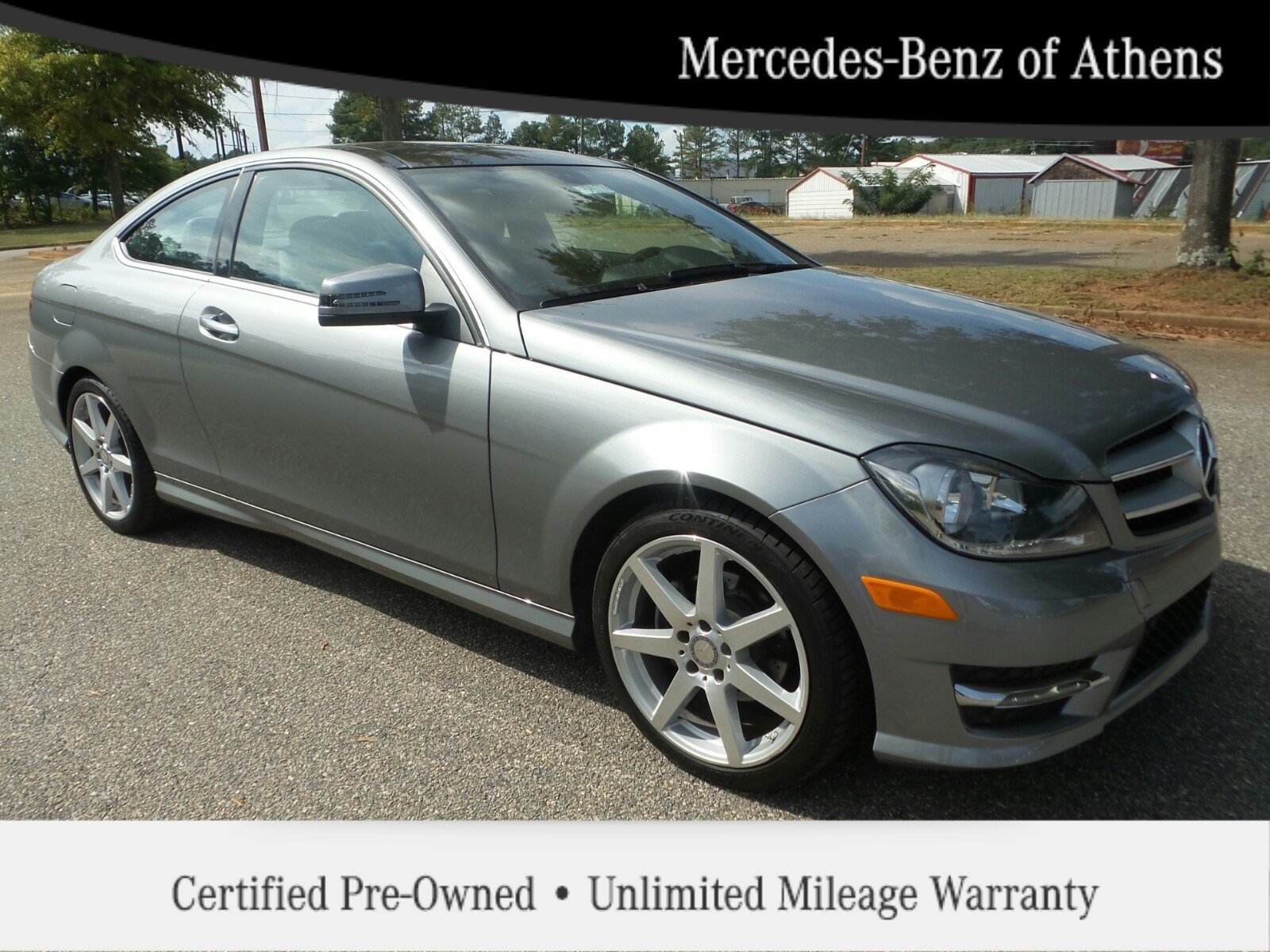 Certified pre owned 2013 mercedes benz c class c250 coupe for Certified pre owned mercedes benz